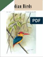Indian Birds Journal