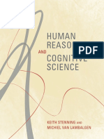 Stenning,Van Lambalgen- Human Reasoning and Cognitive Science