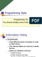 PP9.Programming Style