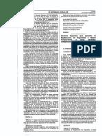 D.S. N° 055-2010-EM reglamento Minero