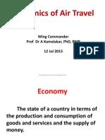 Airport Management - Economics of Air Travel