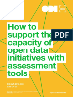 How to support the capacity of open data initiatives with assessment tools