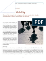 Maximum Mobility - Managing Growth in enterprises Mobility