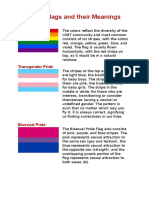 Pride Flags and Their Meanings