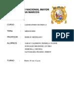 Laboratorio 1 - Mediciones 2014