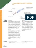 FS 155 FS 155 1 Line Voltage PIR Fixture Integrated Occ Sensors Cut Sheet