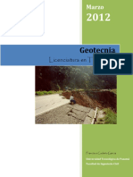 Folleto de Geotecnia
