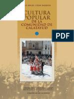 Cultura Popular Comunidad de Calatayud. Tomo I
