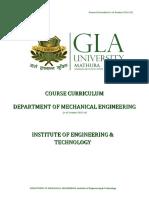 GLA Syllabus of B.Tech