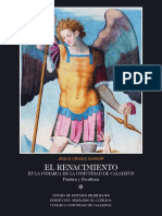 El Renacimiento en la comarca de la Comunidad de Calatayud. Pintura y escultura
