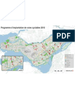 MAP - Montreal New Bike Paths 2010-Montreal Gazette