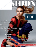 Fashion Central International April Issue 2016