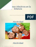 TX Afectivos Infantiles. DSM V
