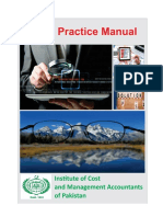 Audit Manual for CMA Firms