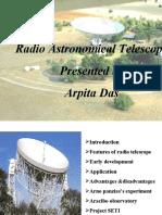 Radio Astronomy Telescope PPT