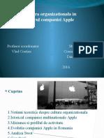 Cultura Organizationala Apple