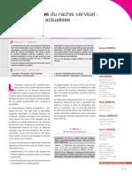 Proprioception Du Rachis Cervical - Une Approche Actualisée