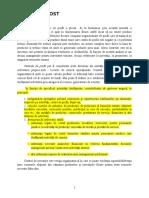 Model Procedura Centre de Cost