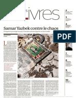 Monde Des Livres 15 Avril 2016