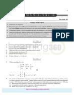 Maths Sample Paper for Class - 12