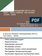 8 Prinsip Manajemen vs Iso 17025 Revisi