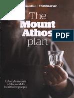 Mount Athos Plan Healthy Living Pt 1