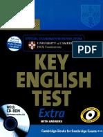 Cambridge KET Extra Book