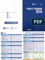 PQM Public Training Schedule 2016 Final