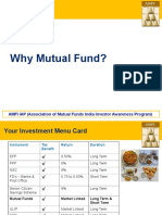 Why Invest in Mutual Fund AMFI