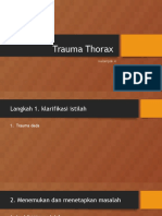 Trauma Thorax