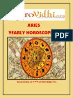 Aries Yearly Horoscope 2016
