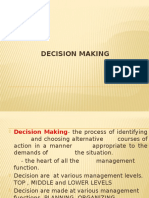 Decision Making, Engineering Management