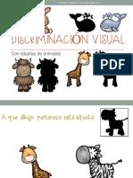 Discriminación Visual Con Siluetas de Animales