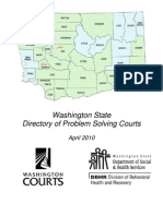 Treatment Courts in Washington