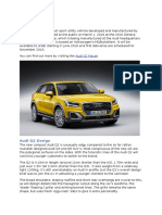 The Audi Q2 Forum - News, Release Date, PIctures