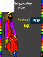 Wise King Solomon French
