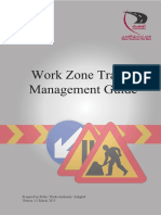 Ashghal - Work Zone Traffic Management Guide - Mar 2013