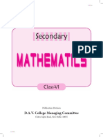 Secondary Maths 6