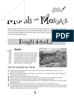 Murals and Mosaics ~ Artistic Elements - Design Ideas for the Outdoor Classroom