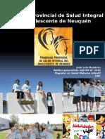 1 Programa Adolescencia de Neuquen