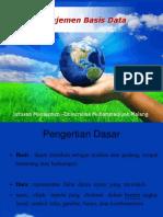 Sistem Manajemen Basis Data (DBMS)