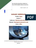 Tehnologii de prelucrari la cald.doc