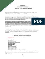 Cerinte Examen Final Si Portofoliu Consiliere Psihologica 2015-16