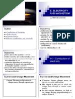 Chapter14 Electric Current STPM PHYSICS