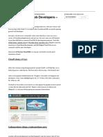 13 Cloud IDEs for Web Developers - Hongkiat