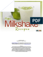 Paleo Milkshake Recipes