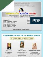 Presentación Misión Sucre (José-Marymer)