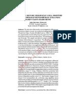 Efektivitas Metode Perawatam Luka Moisture Banlance Terhadap Penyembuhan Luka Pada Pasien Ulkus Diabetikum