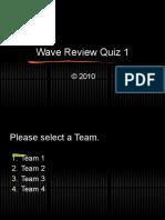 Sound - Review Quiz 1