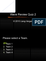 Sound - Review Quiz 2